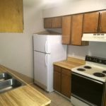 Skyline Apartment for rent kitchen